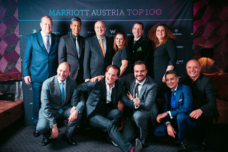Marriott austria top 100 hotel design for Top 100 design hotels